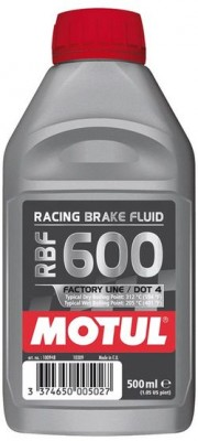 MOTUL  RACING BRAKE FLUID 600 FACTORY LINE 0,5л