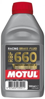 MOTUL  RACING BRAKE FLUID 660 FACTORY LINE 0,5л