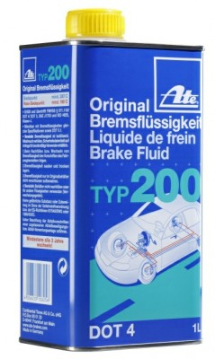 ATE  Brake fluids typ 200 the new racing quality 1л