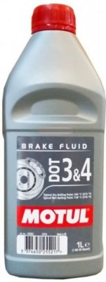 MOTUL  DOT 3&4 BRAKE FLUID 1л